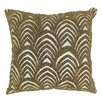 Blazing Needles Arching Fans Cotton Throw Pillow