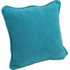 Blazing Needles Microsuede Corded Throw Pillow (Set of 2)