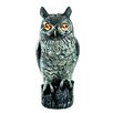 Cozy Products Great Horned Owl Predator Decoy Statue