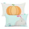 Happy Friday Pumpkin 100% Cotton Cushion Cover