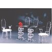 Muniz Spiral 3 Piece Dining Set