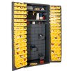 """Durham Manufacturing 72"""" H x 36"""" W x 24"""" D Small Parts Storage and Security Cabinet"""