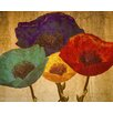 Graffitee Studios Poppies Graphic Art on Wrapped Canvas
