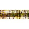 Parvez Taj Marmont Hill Lake Trees Art Print Wrapped on Canvas
