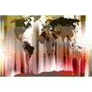 Parvez Taj Leinwandbild Monde, Grafikdruck