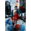 Parvez Taj Leinwandbild James Dean NYC, Grafikdruck