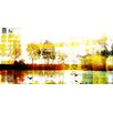 Parvez Taj Biscarrosse Lake Graphic Art Wrapped on Canvas