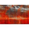 Parvez Taj Leinwandbild La Huella, Grafikdruck