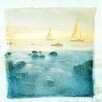 Breakwater Bay Bona Vista Art Print Wrapped on Canvas