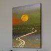 """Parvez Taj Leinwandbild """"Santa Sun Current"""", Kunstdruck"""
