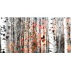 Parvez Taj Tree Ski Art Print Wrapped on Canvas