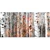"Parvez Taj Leinwandbild ""Tree Ski"", Kunstdruck"