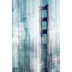 Parvez Taj Golden Gate Graphic Art Wrapped on Canvas