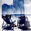 Parvez Taj Life's a Beach Graphic Art Wrapped on Canvas