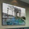 Parvez Taj Leinwandbild George V, Grafikdruck