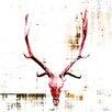 """Parvez Taj """"Hot Temper"""" Graphic Art Wrapped on Canvas"""