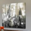 "Parvez Taj ""Industrial NYC"" Graphic Art Wrapped on Canvas"
