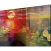 Parvez Taj Sunset Graphic Art Wrapped on Canvas