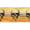 Parvez Taj Leinwandbild Skull, Grafikdruck