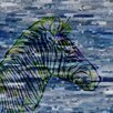 Parvez Taj Zebra Profile Graphic Art Wrapped on Canvas