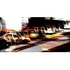"Parvez Taj Leinwandbild ""Racing Taxi"", Grafikdruck"