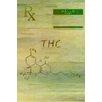 """Parvez Taj Leinwandbild """"RX THC"""", Grafikdruck"""