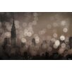Parvez Taj NY Skyline 8 Graphic Art Wrapped on Canvas