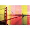 Parvez Taj Golden Gate 1 Graphic Art Wrapped on Canvas