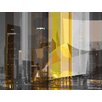 Parvez Taj LA Graphic Art Wrapped on Canvas