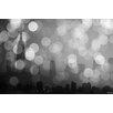 "Parvez Taj Leinwandbild ""NY Skyline 3"", Grafikdruck"