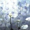 Parvez Taj Leinwandbild Water Lily Pads, Grafikdruck