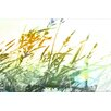 Parvez Taj Breezy Grass Graphic Art Wrapped on Canvas