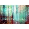 Parvez Taj Light Through the Trees Graphic Art Wrapped on Canvas