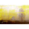 Parvez Taj Golden Haze Graphic Art Wrapped on Canvas