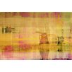 Parvez Taj Windmills Graphic Art Wrapped on Canvas