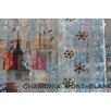Parvez Taj Chamonix Mont-Blanc Graphic Art Wrapped on Canvas