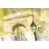 Parvez Taj Bleeker Graphic Art Wrapped on Canvas