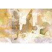 Parvez Taj Flat Iron Graphic Art Wrapped on Canvas