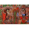 Parvez Taj Howrah Art Print Wrapped on Canvas