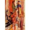 Parvez Taj Girl's Day Art Print Wrapped on Canvas