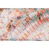 Parvez Taj Bird Dance Graphic Art Wrapped on Canvas
