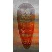 Parvez Taj Leinwandbild African Mask, Grafikdruck