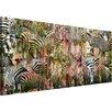 """Parvez Taj Leinwandbild """"Zebras"""", Grafikdruck"""