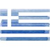 Parvez Taj Greek Flag Graphic Art Wrapped on Canvas