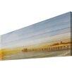 "Parvez Taj Leinwandbild ""Malibu Pier"", Kunstdruck"