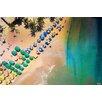 Parvez Taj Umbrella Colors Photographic Print Wrapped on Canvas