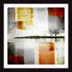 Parvez Taj 'Distant Shore' Framed Graphic Art