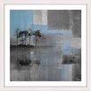 Parvez Taj 'Blue Horizon' Framed Graphic Art