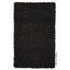 Gooch Fantasy Hand-Loomed Black Area Rug