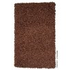 Gooch Fantasy Hand-Loomed Brown Area Rug